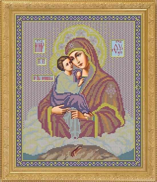"""И 014 Икона """"Почаевская"""" - набор (Galla Collection)"""