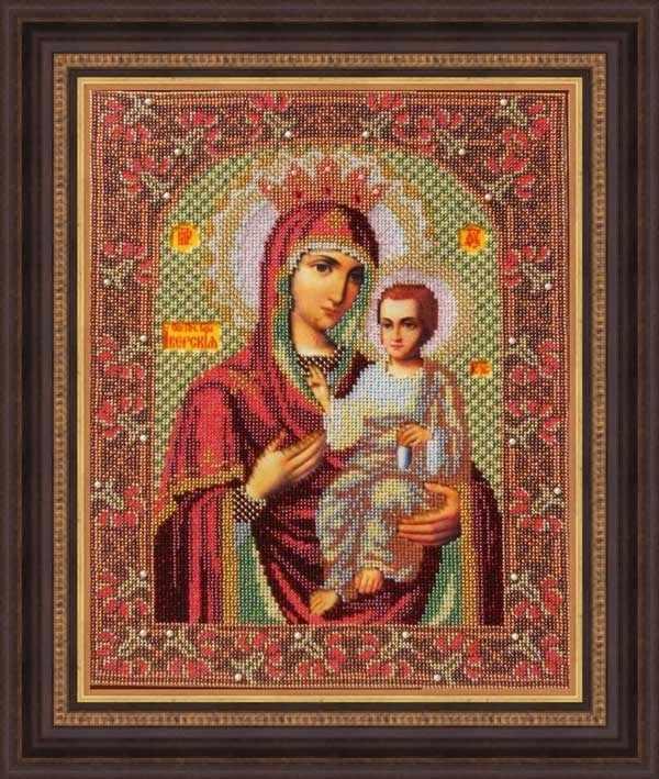 """И 015 Икона Божией Матери """"Иверская"""" - набор (Galla Collection)"""