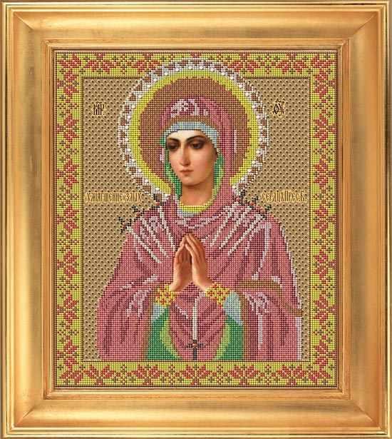 """И 016 Икона Божией Матери """"Умягчение злых сердец"""" - набор (Galla Collection)"""