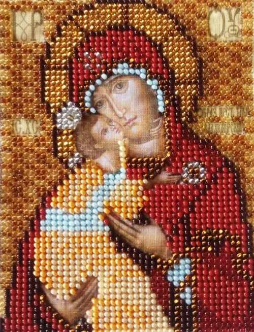 И-039 Богородица Владимирская (Золотой Восход)