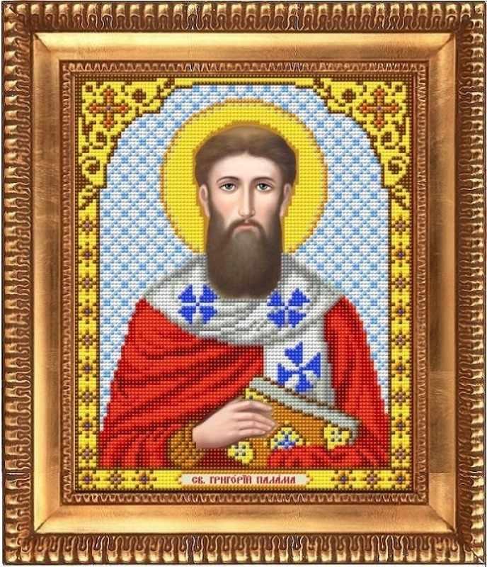"И-4144  ""Святой Григорий Палама"" - рисунок на ткани"