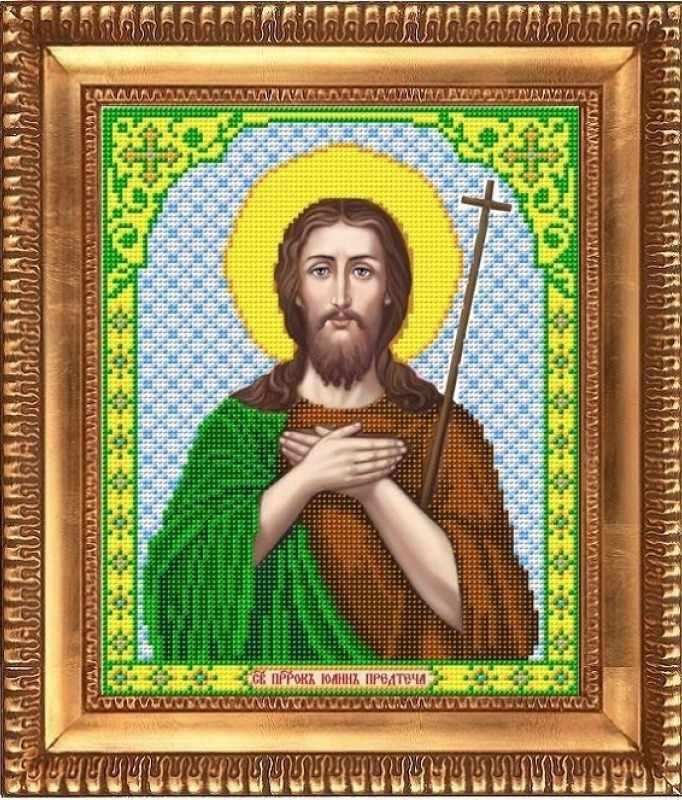 "И-4151  ""Святой Пророк Иоанн Предтеча"" - рисунок на ткани"