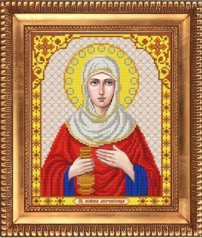 """И-4167  """"Святая Иоанна Мироносица"""" - рисунок на ткани"""