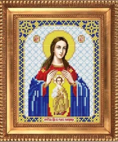 """И-5064  """"Пресвятая Богородица Помощница в родах"""" - рисунок на ткани"""