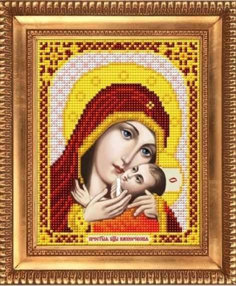 """И-5069  """"Пресвятая Богородица Касперовская"""" - рисунок на ткани"""