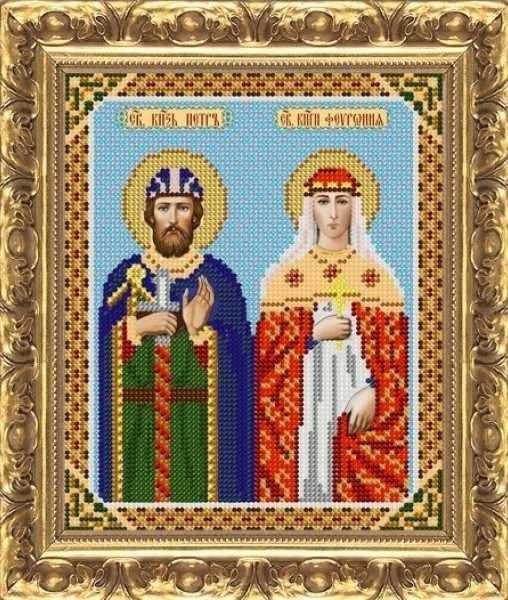 ИП-129 Св.князь Пётр и Св.княгиня Феврония - схема (Велисса)