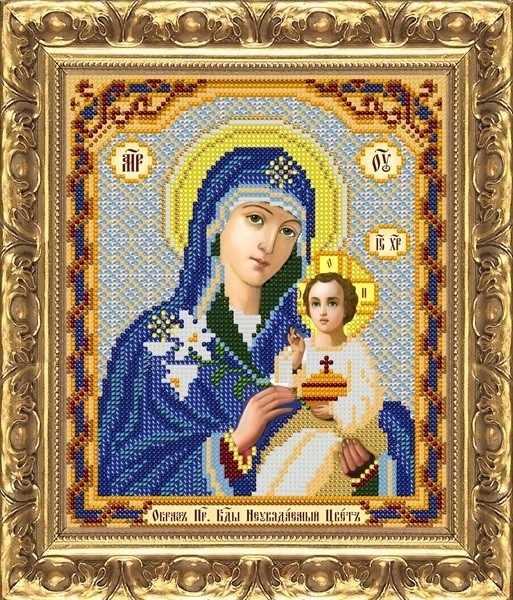 ИП-151 Образ Пр. Богородицы Неувядаемый Цвет - схема (Велисса)