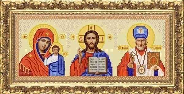 ИП-3001 Икона триптих - схема (Велисса)