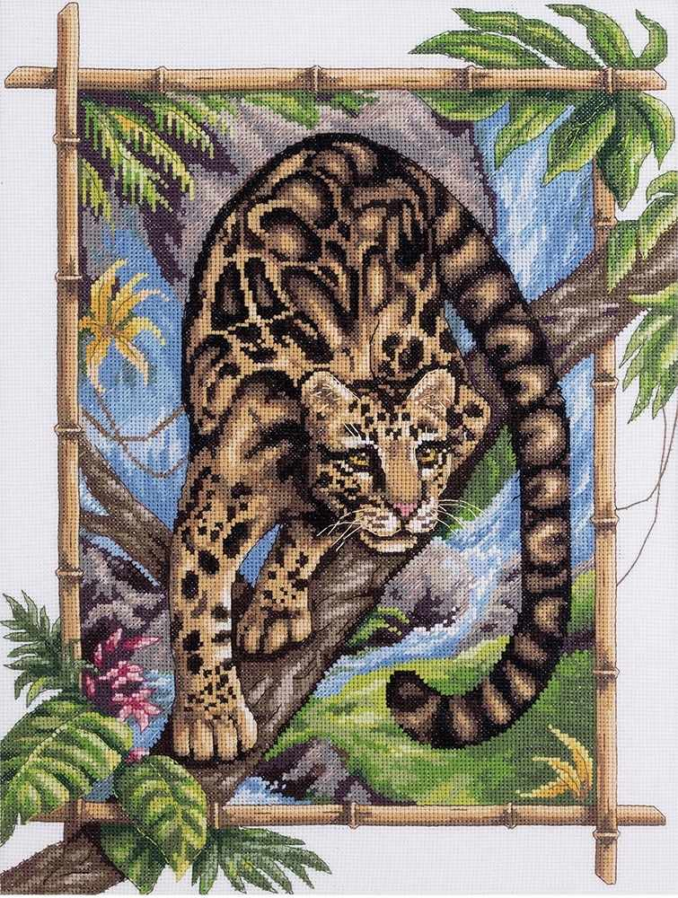 """Ж-1711 """"Дымчатый леопард"""""""