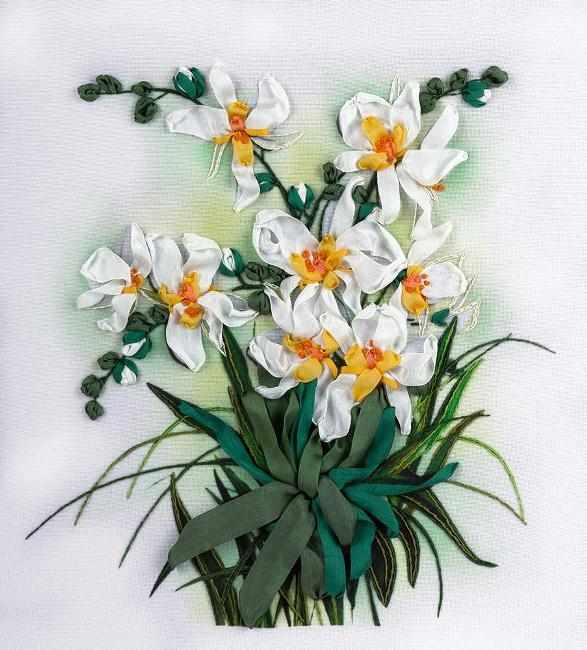 "ЖК-2048 ""Белые орхидеи"""