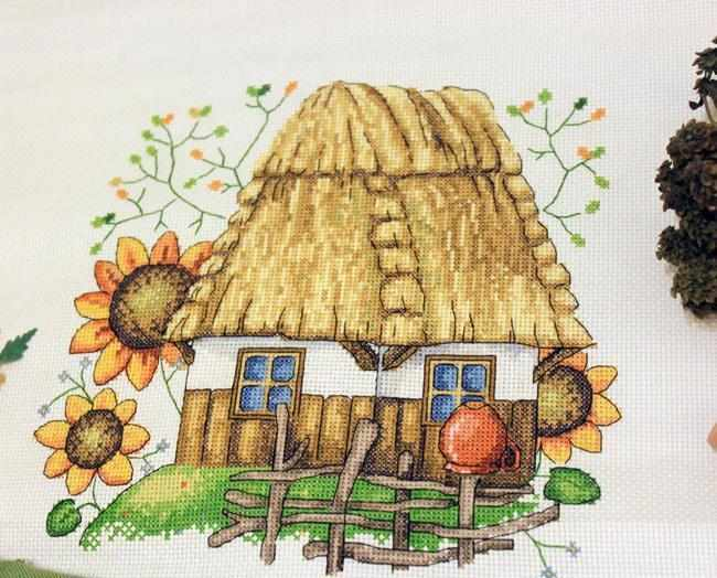К-10 Каждой молодушечке - дом, сундук и кошечку ч.2 (Мережка)
