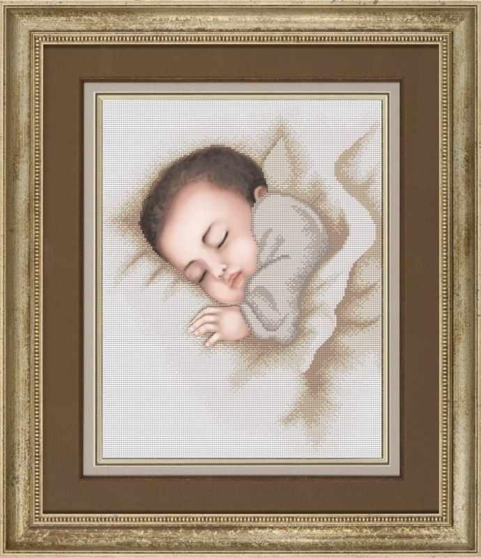 """К-3066 """"Сладкие сновидения"""" - рисунок на ткани"""