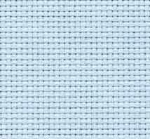 Канва Аида цв. голубой шир.160 14ct 55/10 кл.