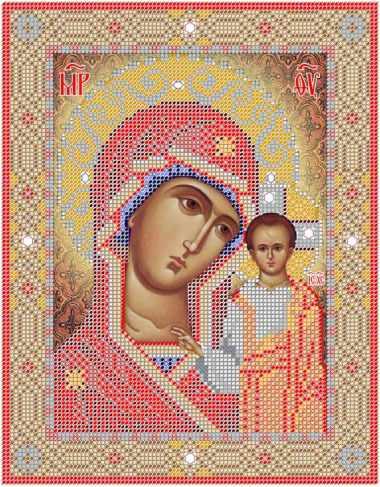 Казанская икона Пресв.Богородицы (Простор)