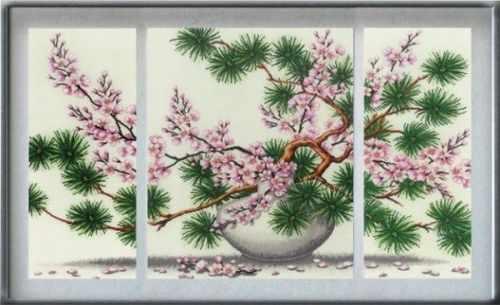 КБ-001 Сакура (Триптих) - Магия канвы