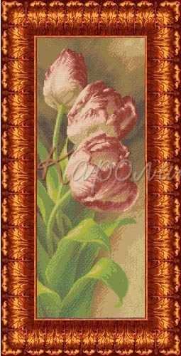 КБЦ 2002  Тюльпаны - схема (Каролинка)