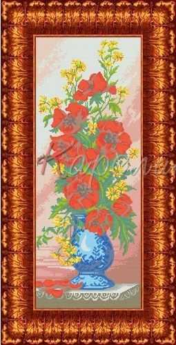 КБЦ 2004 Цветы - схема (Каролинка)