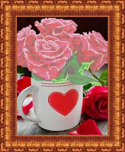 КБЦ 4017 Розы для любимой (Каролинка)