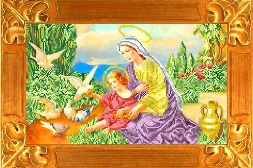 КБИ 3063 Богородица и голуби (Каролинка)