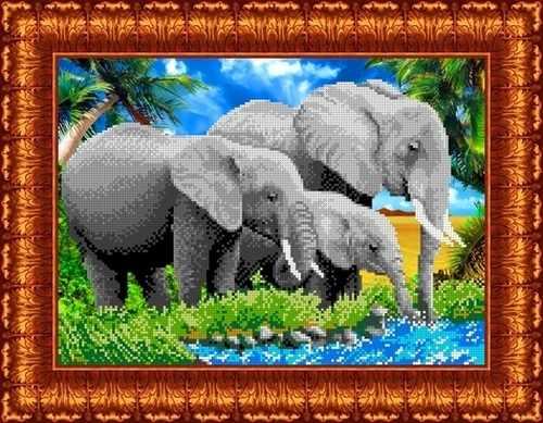 КБЖ 3007 Слоны (Каролинка)