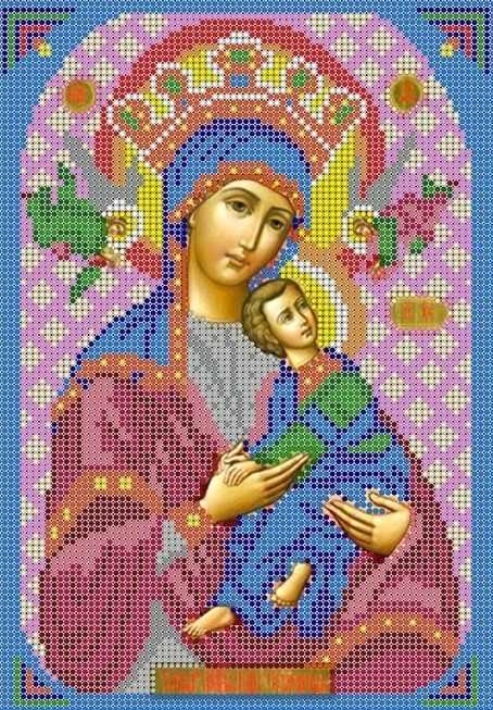 КМИ-4378 Страстная Божья Матерь - схема (Мастерица)