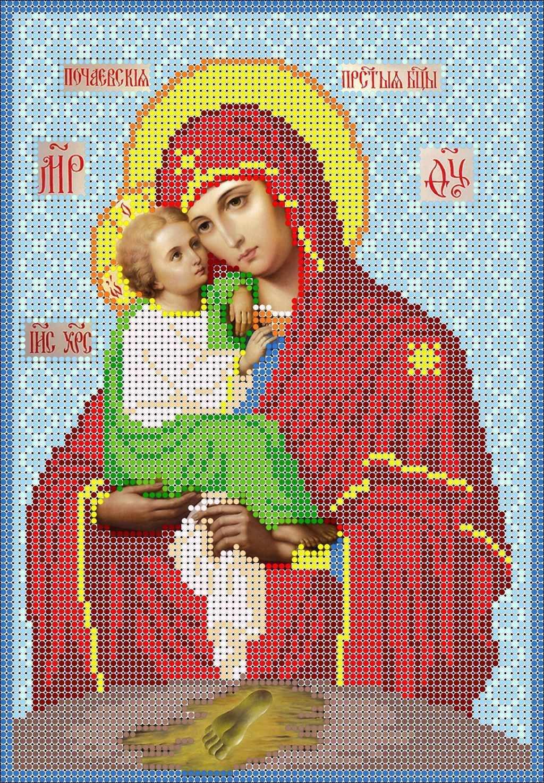 КМИ-4416 Прст. Богородица Почаевская- схема (Мастерица)