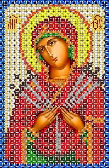 КМИ-5311 Богородица Семистрельная - схема (Мастерица)