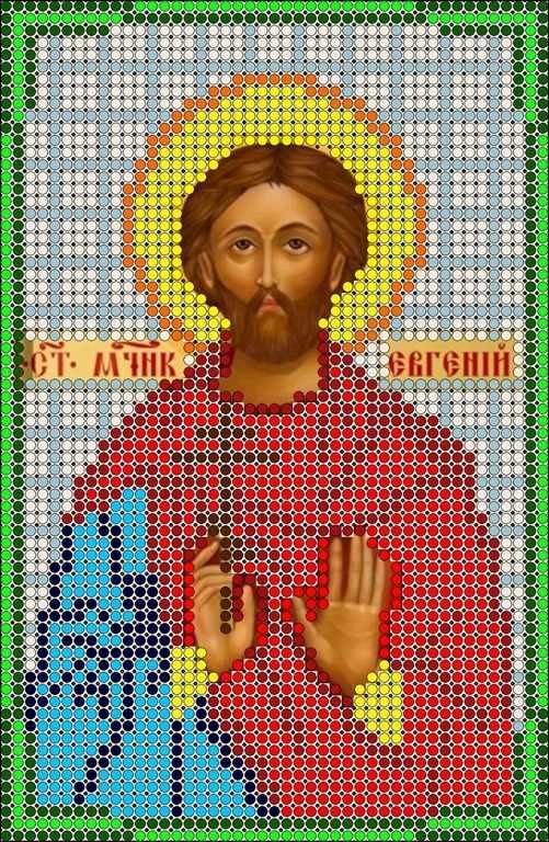 КМИ-5331 Св. Мученик Евгений - схема (Мастерица)