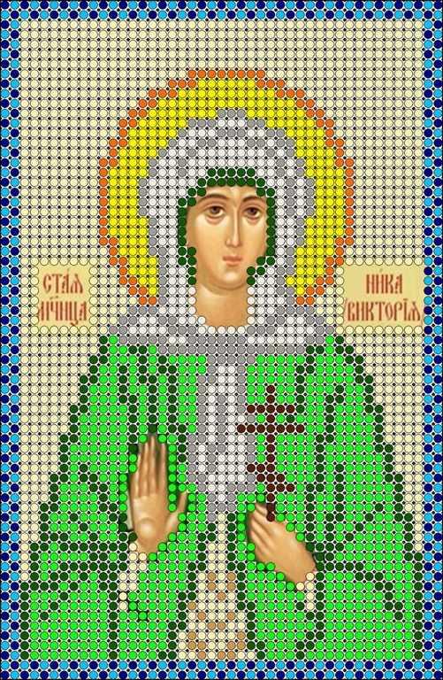 КМИ-5343 Св. Мученица Виктория - схема (Мастерица)