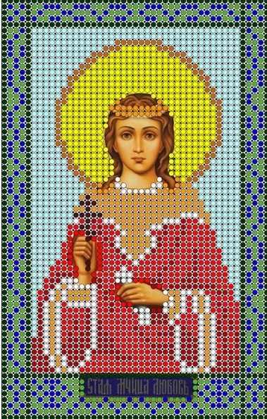 КМИ-5355 Св. Мученица Любовь - схема (Мастерица)