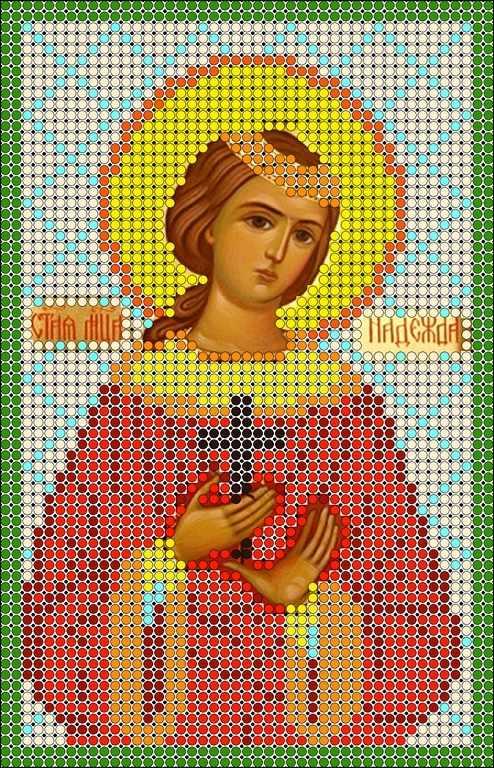 КМИ-5371 Св. Мученица Надежда - схема (Мастерица)
