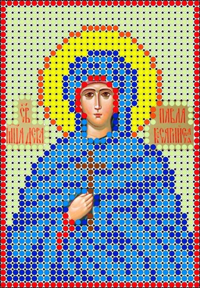 КМИ-6478 Св. Мчц. Павла- схема (Мастерица)