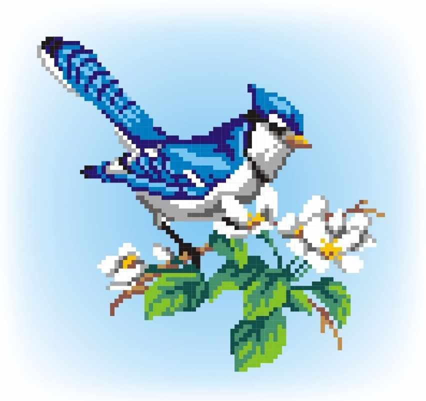 КН-398 Птичка на ветке (МП Студия)