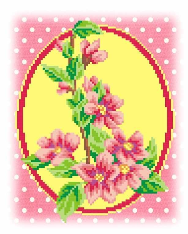 КН-401 Розовые цветы (МП Студия)