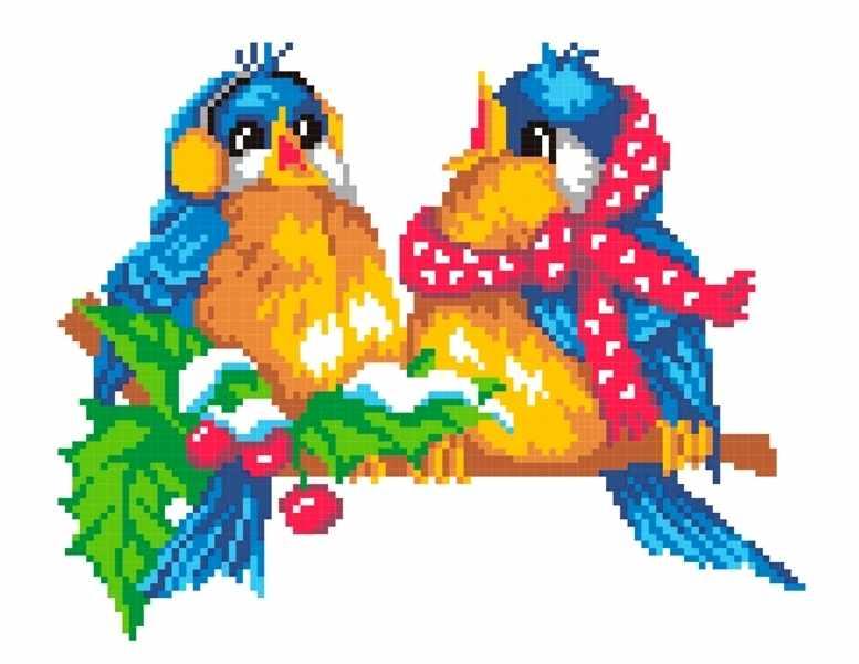 КН-413 Птички на ветке (МП Студия)
