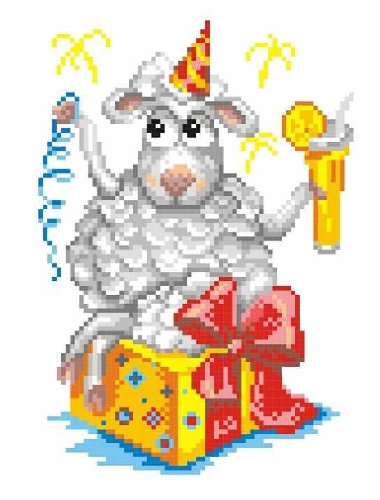 КН-426 Новогодняя овечка (МП Студия)