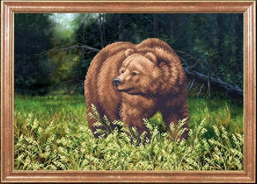 КС-032 Медведь - Магия канвы