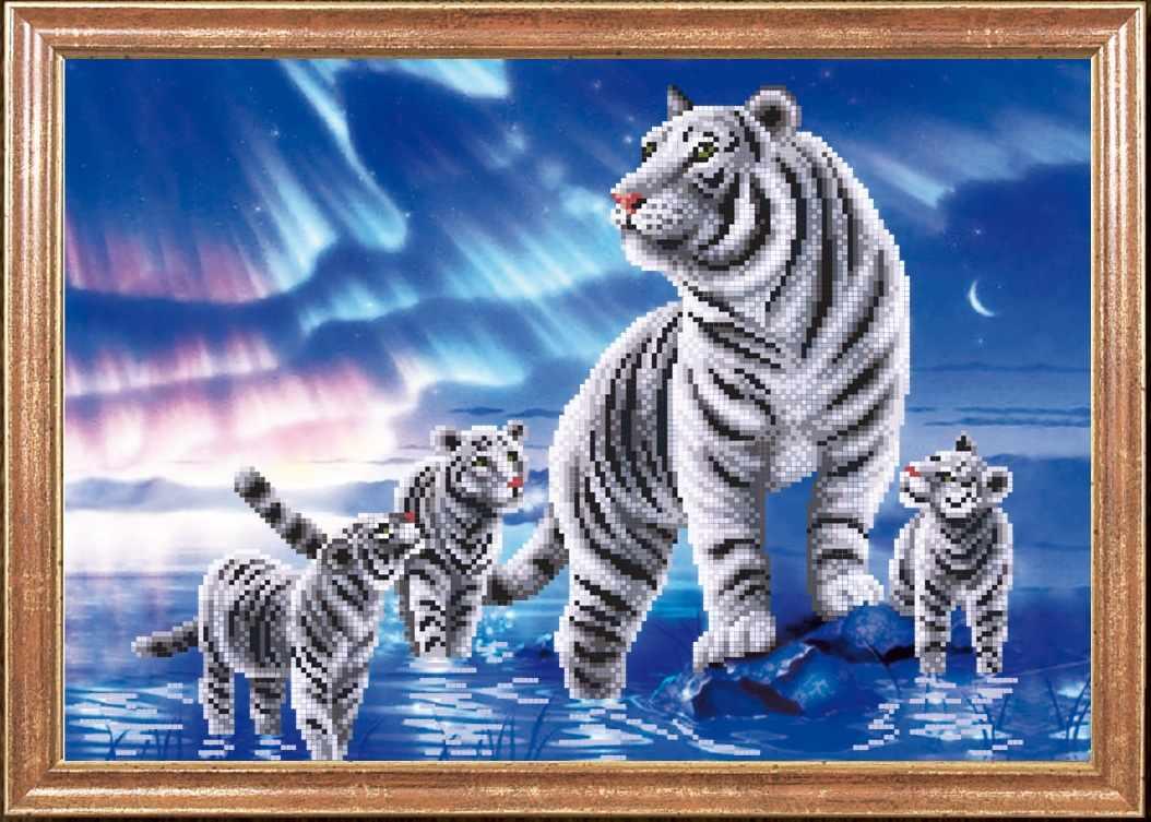 """КС-081 """"Белые тигры"""" -Магия канвы"""