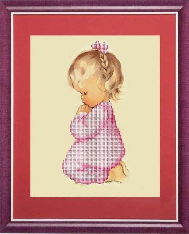 КС-098 Молитва девочки - схема (Славяночка)