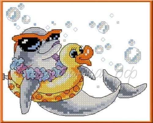 КТКН 003 Дельфин - набор (Каролинка)
