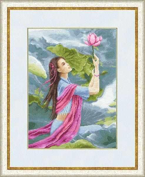 КВ-014 Цветок лотоса. Красота востока