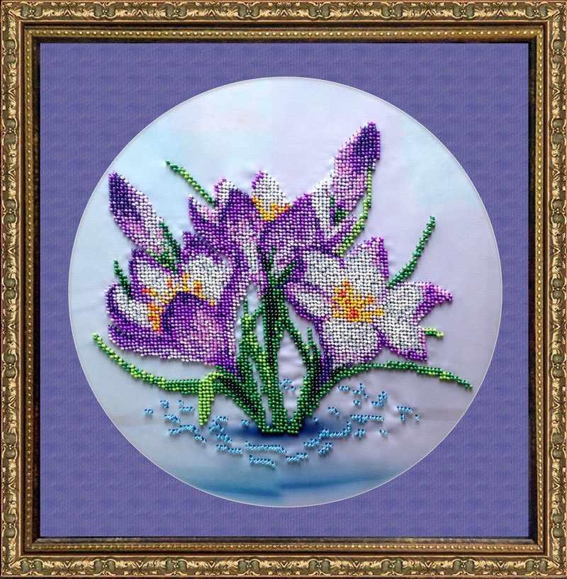 КВ410 Весенние цветы - набор