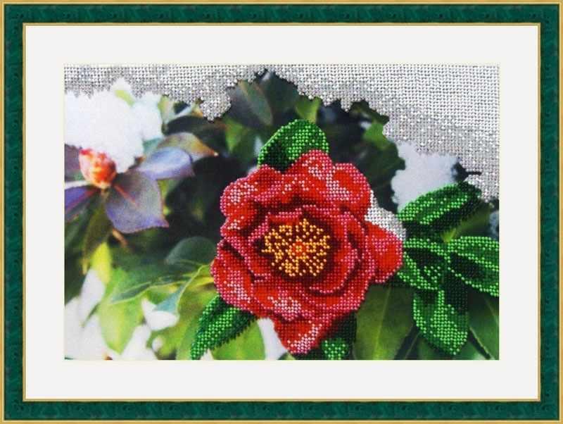 "Л 317 ""Японская роза"" - набор (Galla Collection)"