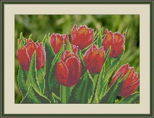 "Л 326 ""Тюльпаны"" - набор (Galla Collection)"