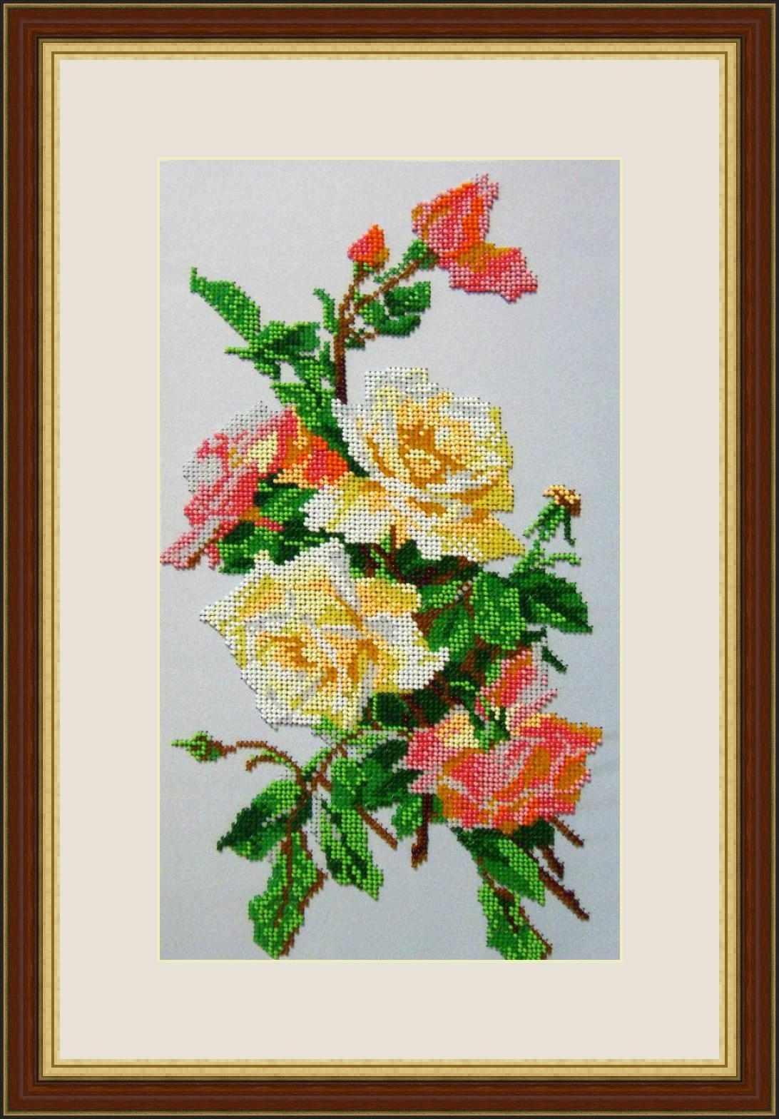 """Л 327 """"Розовая акварель"""" - набор (Galla Collection)"""