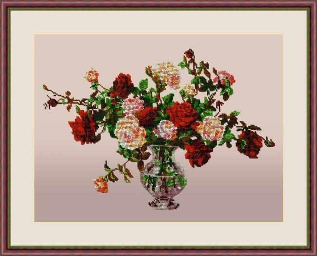 "Л 329 ""Букет роз"" - набор (Galla Collection)"