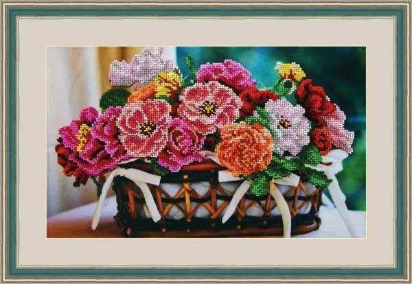 "Л 330 ""Цветочная корзина"" - набор (Galla Collection)"