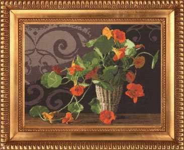 ЛЦ-033 Настурции.Любимые цветы