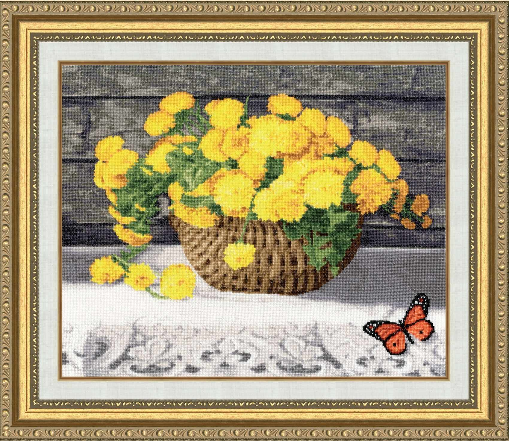 ЛЦ-051 Солнце в цветах. Любимые цветы