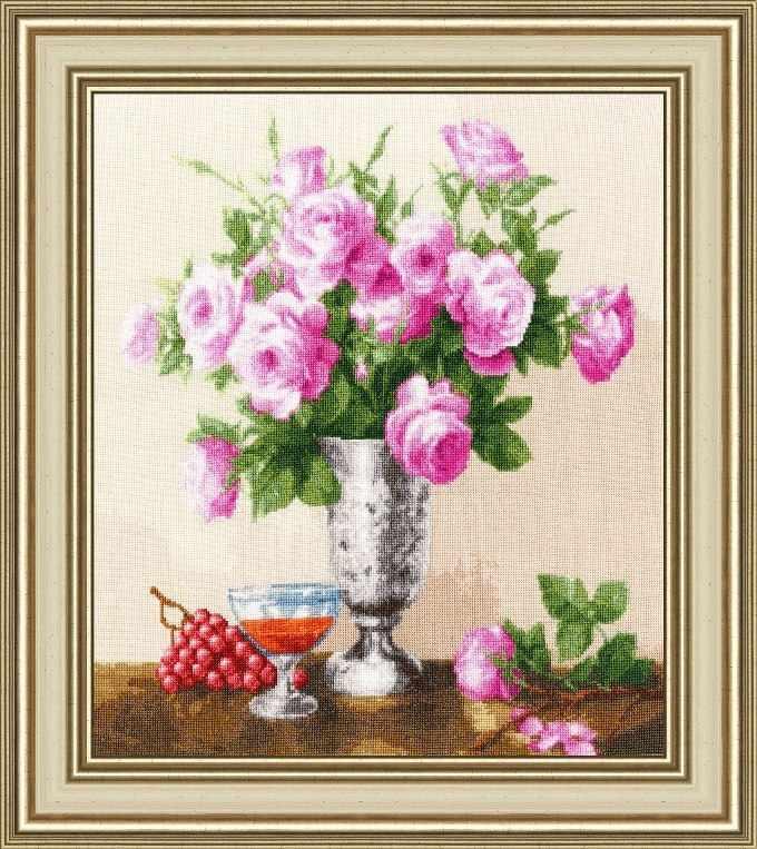 ЛЦ-060 Королевские розы. Любимые цветы